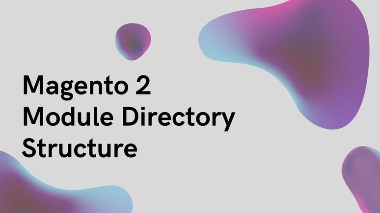 The directory structure of Magento 2 Module